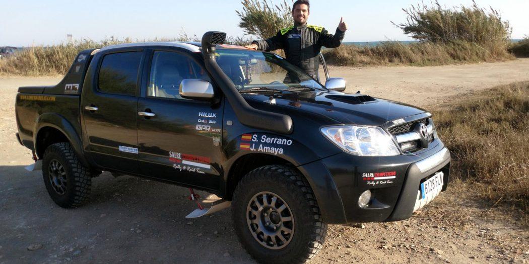 Salvador Rubén Serrano y Juan Miguel Amaya volverán a contar con su montura habitual, un Toyota Hilux.