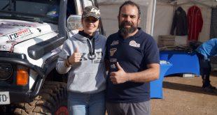 Raquel Cecilia y Manuel Campos, Team Zapatito 4x4.