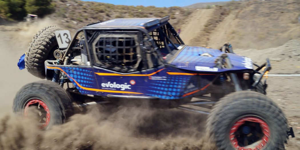 Vehículo prototipo en el Trofeo Iberian King Torrox 2021.